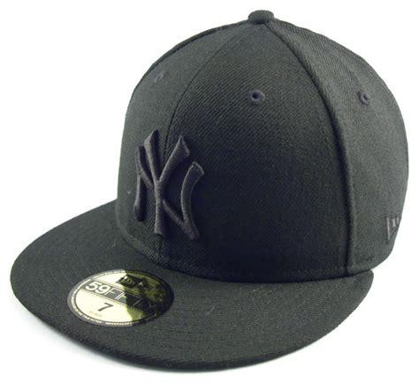new era black on black new era cap new york yankees black on black free images