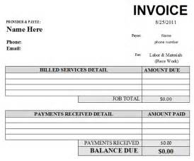 Repair Receipt Template Auto Repair Invoice Template 2