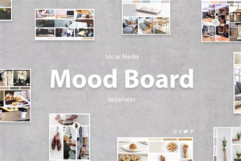 15 Nice Moodboard Templates Design Utemplates Mood Board Template Photoshop
