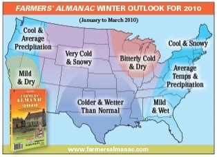 farmer s almanac winter outlook waow weather blog frigid 2010 forecast how cold will this winter be