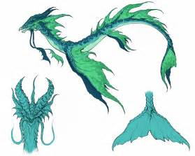 sea serpent concept by yindragon on deviantart