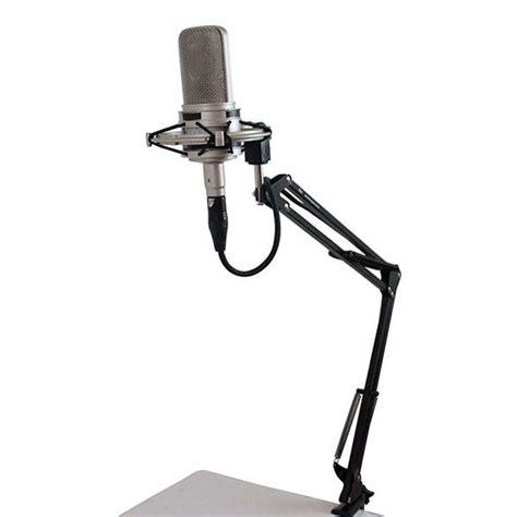 asta microfono da tavolo asta per microfono da tavolo pieghevole asd 20 nero