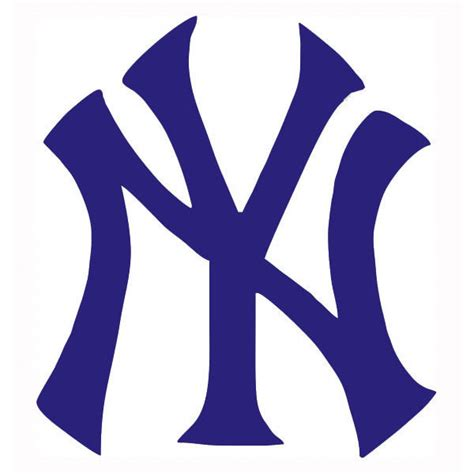 Yankee L set of 2 new york yankees ny logo decal 12 quot ebay