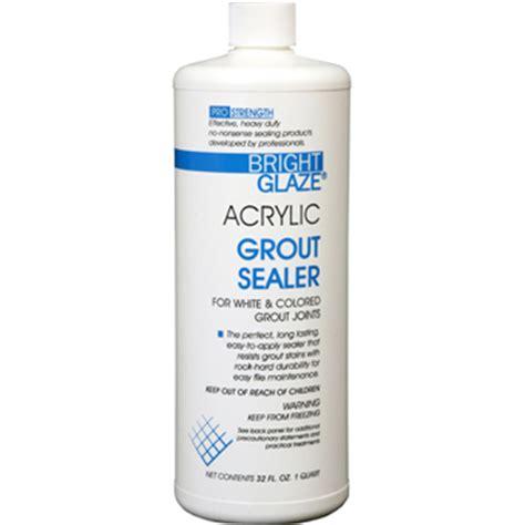 Best Bathroom Grout Sealer 7757 Bright Glaze Acrylic Grout Sealer Masonrysawseries