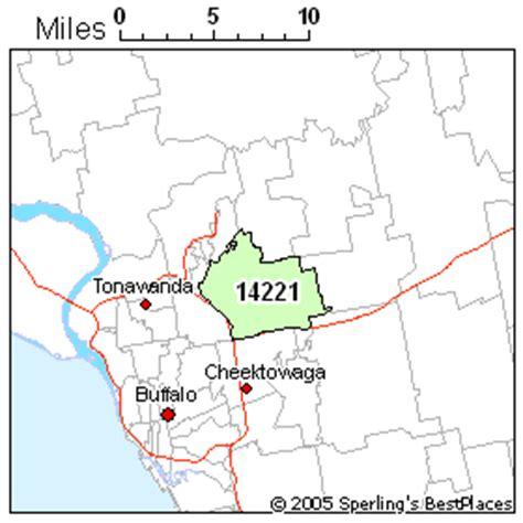 buffalo ny zip code map buffalo zip 14221 new york