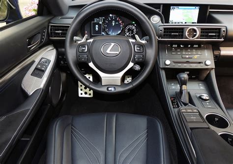 Lexus Rcf Interior by Lexus Rc F Packs A Punch Wheels Ca