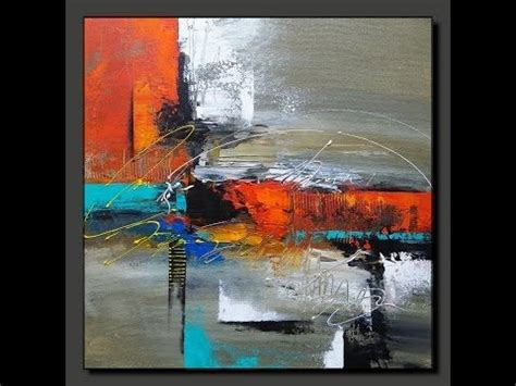 7 Painting Techniques by Acrylic Abstract Painting In Just 7 Minutes Real Time