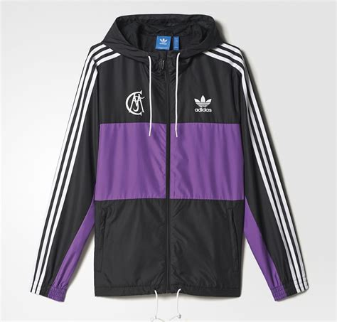 jaket adidas black zebrajaket adidas sport real madrid windbreaker by adidas
