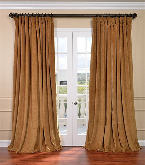 Blackout Drapes Signature Wide Velvet Blackout Curtains