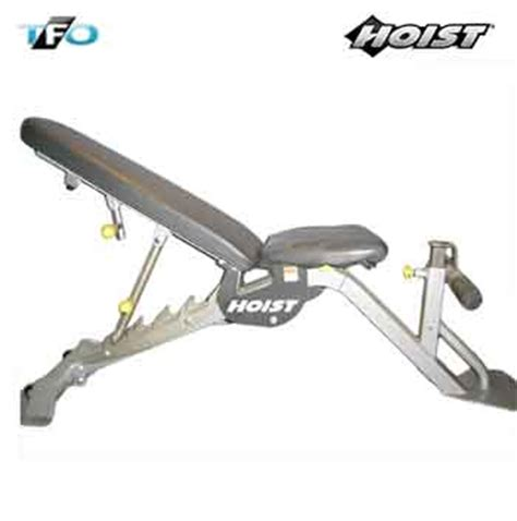 Hoist 6 Position Bench Total Fitness Outlet
