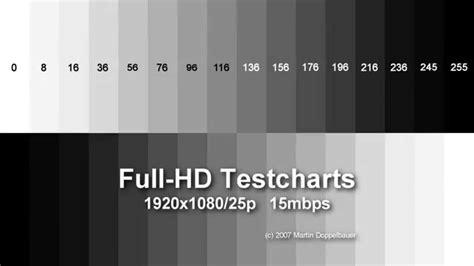 full hd video test full hd lcd panel test light bleeding test motion test