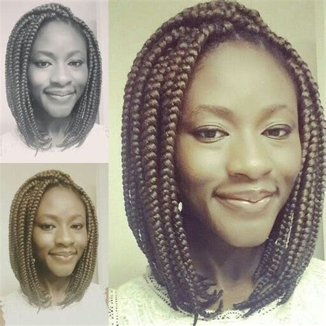 potic justice braids into a bob hairstyle poetic justice braids box braids jumbo braids individual