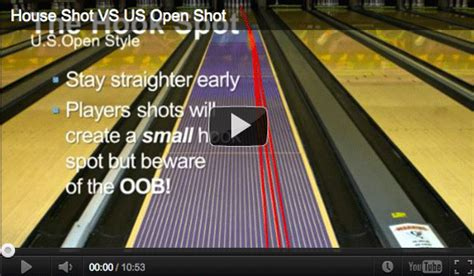 typical house pattern bowling steve s bowling blog why bowling on the u s open pattern