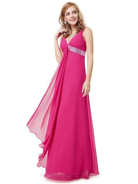 Ribbon Flowy Skirt 3 prom dresses 2015 v neck flowy ribbon sequined waist