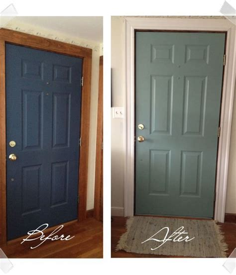 Diy Painted Door Painted Interior Doors Paint Doors And Painting Interior Wood Doors