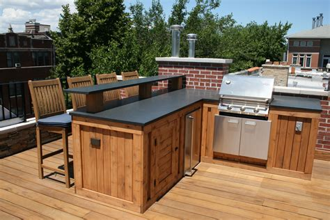 Deck Countertop by Built In Grill Bar Area Granite Countertop Counter
