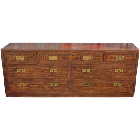 Modern Dresser Hardware by Walnut Caign Style Modern Dresser With Polished Brass