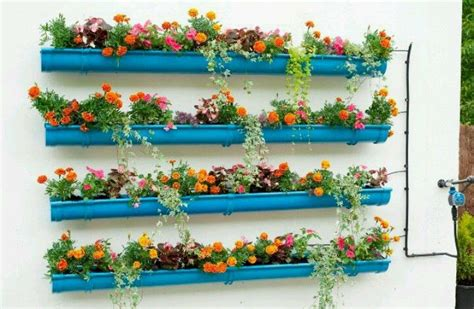 Gutters As Planters by Gutter Planters Landscaping