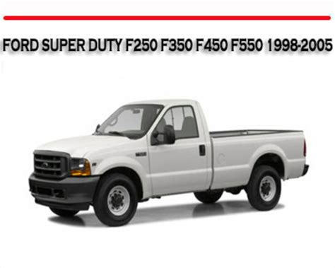 free online auto service manuals 1998 ford f250 navigation system 2005 ford f250 powerstroke owners manual