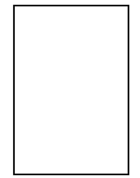 printable rectangle shapes shapes printable worksheet rectangle shape cutouts