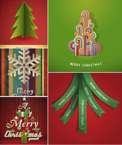 christmas modern posters vector vector graphics blog