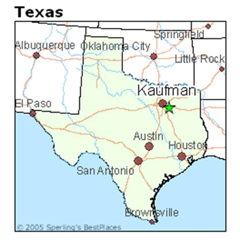 map of kaufman texas best places to live in kaufman texas
