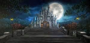 castle backdrop enchanted castle scenic stage backdrop rental theatreworld