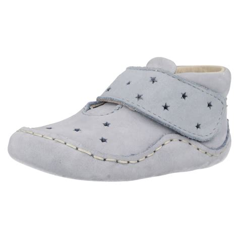baby pram shoes baby pie clarks boys nubuck pram shoes ebay
