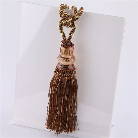 drape tiebacks newest curtain tiebacks smooth tassel drape holdbacks
