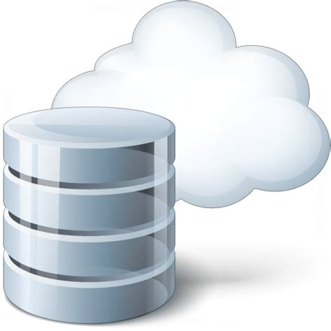 IconExperience » V-Collection » Data Cloud Icon