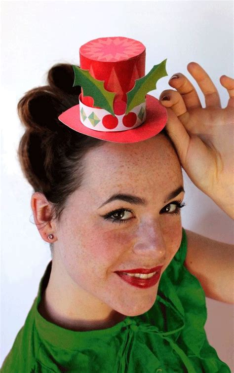 christmas hat themes cool diy photo booth props diy projects party ideas