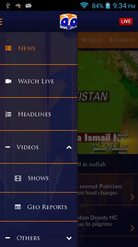 geo news live for mobile geo news android apps on play