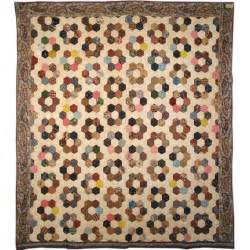 Vintage Quilts Antique Quilt Mosaic Honeycomb At 1stdibs