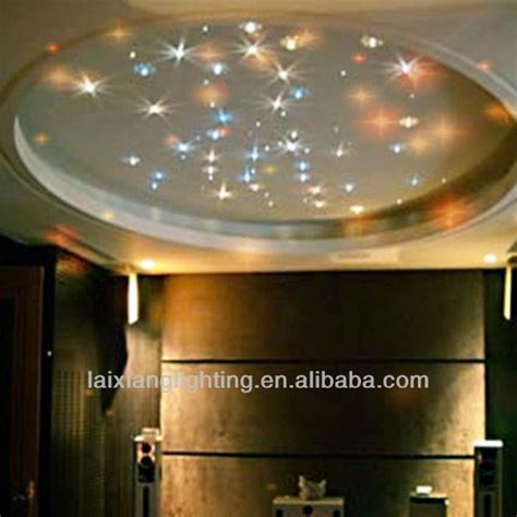 home beautiful original design crystal japan home novelty lobby ceiling home design rgb sky star starry ceiling light with multi function