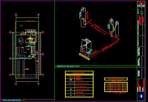 plane  gas installation dwg block  autocad designs cad