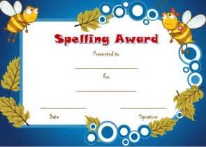 spelling bee certificate template 21 free printable spelling bee certificates participation