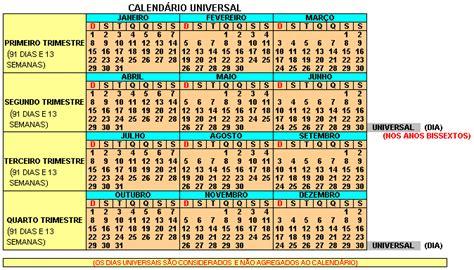 Calendario De 13 Meses Sabemos Realmente Como Funciona O Calend 225 Gregoriano