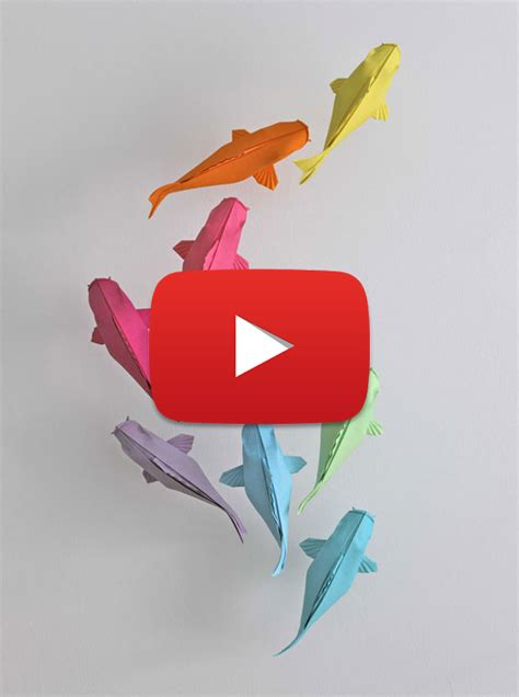 Origami Fish Koi - colorful origami koi fish 2018