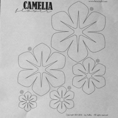 paper ribbon template fabric flowers template templates fabric