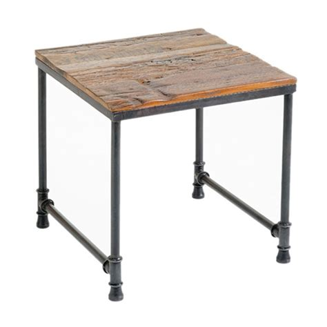 industrial end table hugo end table industrial