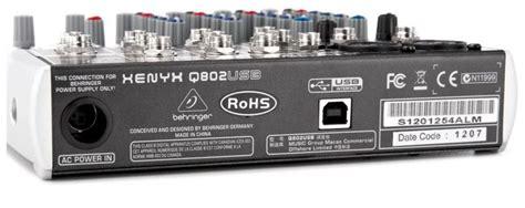 Behringer Xenyx Q802usb Mixer behringer xenyx q802usb mixer getinthemix