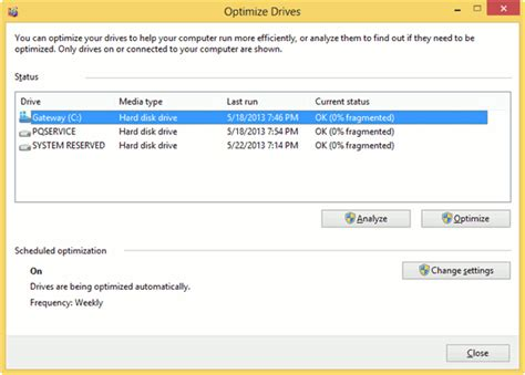 can pass be used on pc how to optimize drives in windows 8 to improve performance