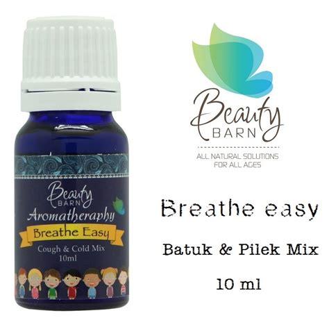Barn Breathe Easy 10 Ml barn aromatherapy breathe easy untuk bayi batuk