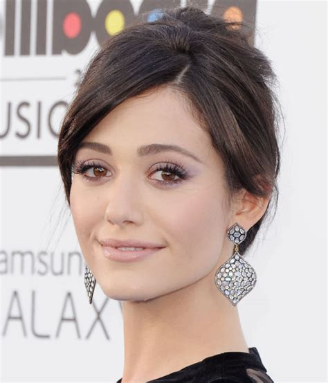 emmy rossum eye makeup catch up with the purple trend 15 perfecy purple eye