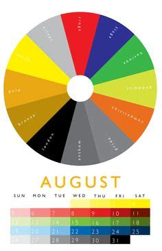 november colors october color wheel 2012 calendar best