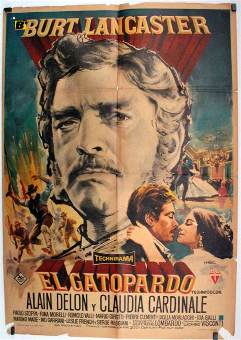 el gatopardo quot der leopard quot movie poster quot il gattopardo quot movie poster