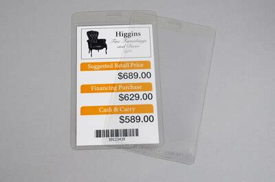 tag furniture clear furniture tags packzen