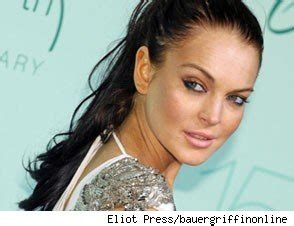 Pop Nosh Lindsay Talks To by Lindsay Lohan On With The Rep Says No