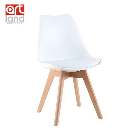 Upholstered Dining Chairs Cheap Upholstered Plastic Side Chair With Beech Wood Legs Dining Chair Leisure Chair Cheap Free