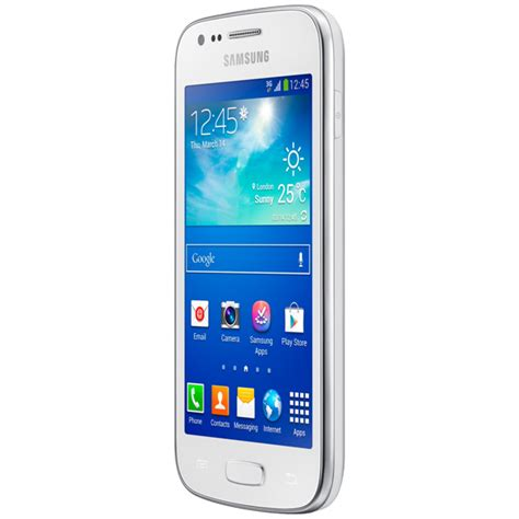 Galaxy Ace 3 White samsung gt s7275t galaxy ace 3 smart phone white appliances